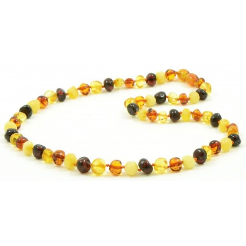 collier multicolore femme